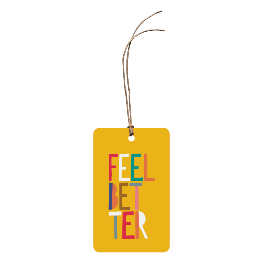 'Feel Better' Gift Tag