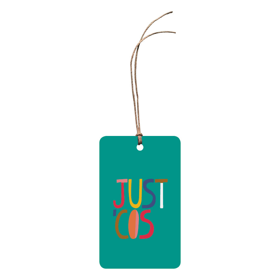'Just 'Cos' Gift Tag