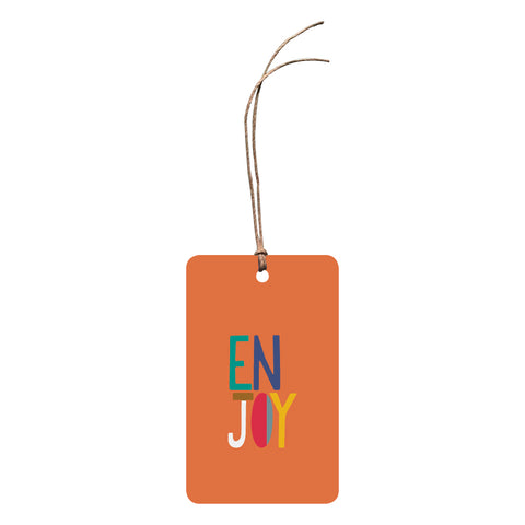 'Enjoy' Gift Tag