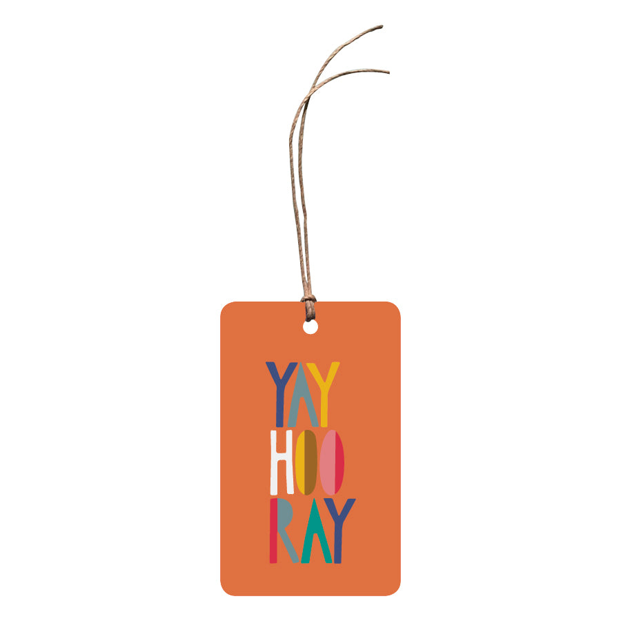 'Yay Hooray' Gift Tag
