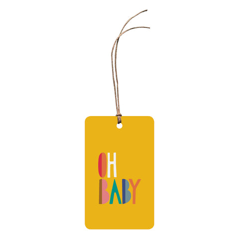 'Oh Baby' Gift Tag