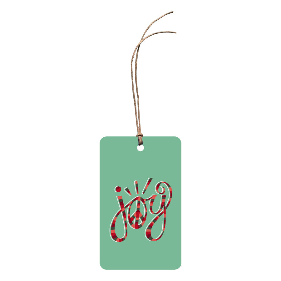 'Joy Peace' Festive Gift Tag