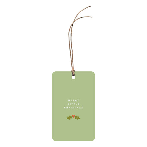 'Merry Little Christmas' Christmas Gift Tag