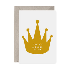 'You're A Grand Ol' Pa' Grandfather Card