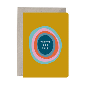'You've Got This' Good Luck Card