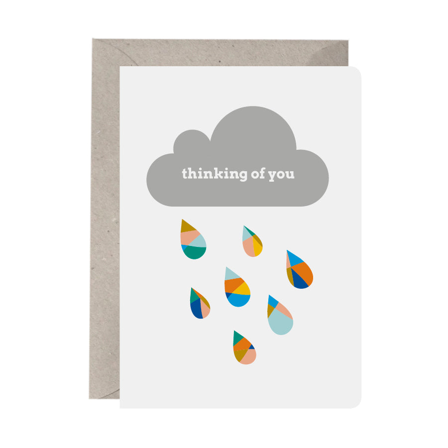 Thinking Of You Cloud & Raindrops