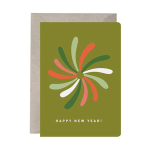 'Happy New Year!' Greeting Card