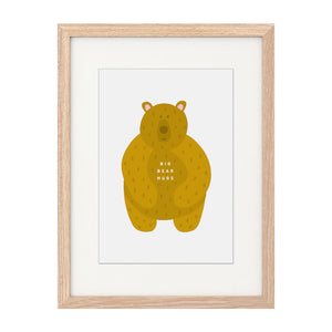 'Big Bear Hugs' A4 Print