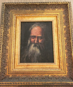 Da Vinci Oil Portrait