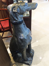 Load image into Gallery viewer, 'Lightning' Grey Hound Statue