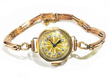 Load image into Gallery viewer, c1922 Art Deco 9ct Gold Watch