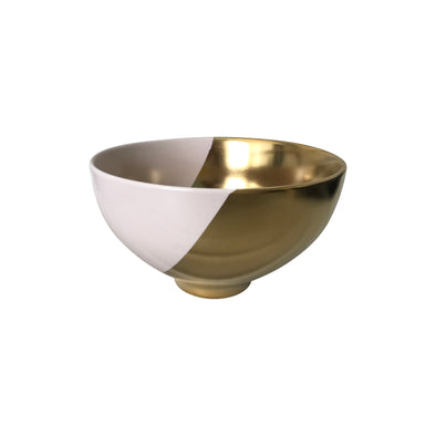 Blush & Gold Duo Bowl