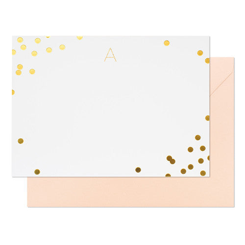 Sugar Paper Ellis Avenue Monogram Notecard Set