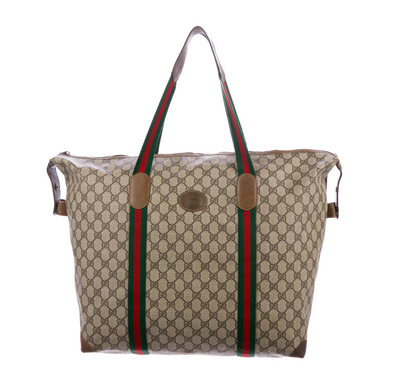 Gucci Vintage GG Plus Oversized Bag