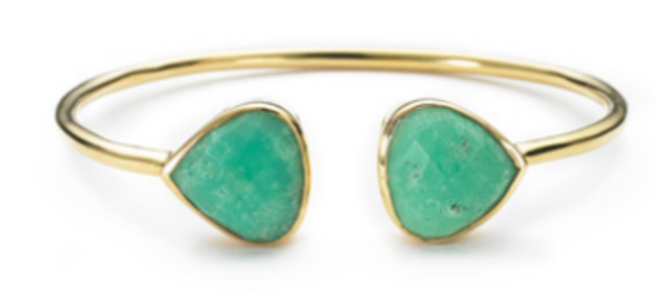 Margaret Elizabeth Chrysoprase Bangle