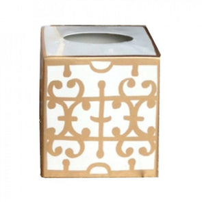 Klimt Gold Tissue Box Cover