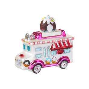 Warm Donuts Food Truck Ornament