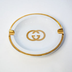 Vintage Gucci Gold Ashtray