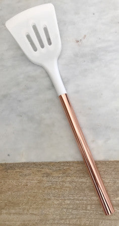 Rose Gold Slotted Turner