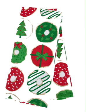 Christmas Donut Dish Towels