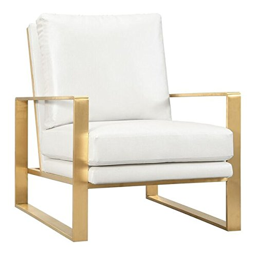 Gold White Frame Chair