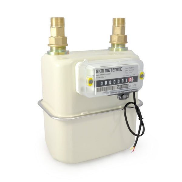 "3/4"" Pulse Output Gas Meter - PGM-075 - EKM Metering Inc."