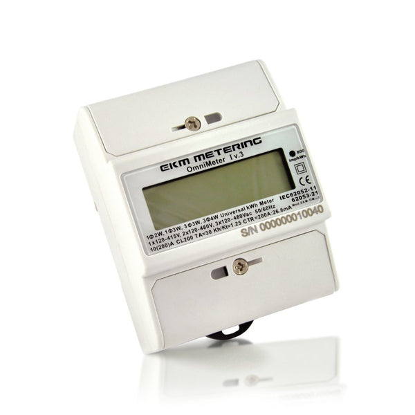 EKM-Omnimeter I v.3 – Universal Smart Meter, Single Phase or 3-Phase, 120 to 480V, 50/60Hz, up to 5000 Amps - EKM Metering Inc.