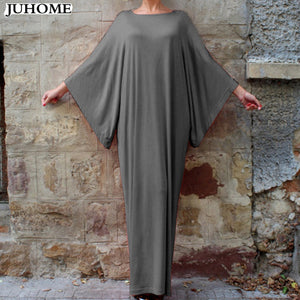 Long dress with Dolman Sleeves                6XL Plus Size Womens Dresses