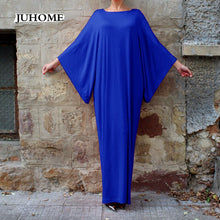 Load image into Gallery viewer, Long dress with Dolman Sleeves                6XL Plus Size Womens Dresses
