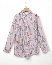 Load image into Gallery viewer, Nautical  Print Blouse..