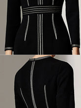 Load image into Gallery viewer, Stitch Detail Knit Dress