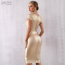 Load image into Gallery viewer, Navarra Gold New Year's Eve Dress