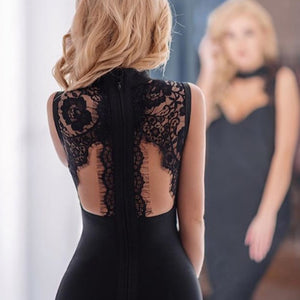 The 5th Ave. Lace Back Dress