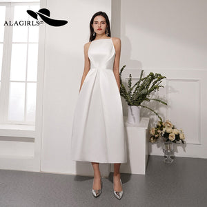 Short A Line Evening Dress Sexy Spaghetti Strap Evening Gown Backless Party dress