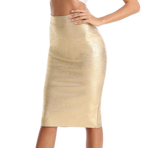 Bandage  High Waist Pencil Skirt