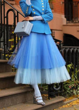 Load image into Gallery viewer, Mixed Colors Tulle Skirt High Waist