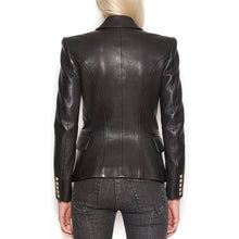 Load image into Gallery viewer, Italian High Quality Leatherette Designer Blazer for Women