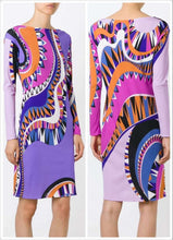 Load image into Gallery viewer, Italian  high quality SILK JERSEY Dress