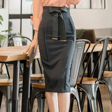 Load image into Gallery viewer, Super Power Stretch High Waist Pencil Skirt,