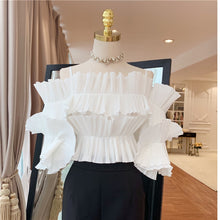 Load image into Gallery viewer, Designer  Pleated Blouse