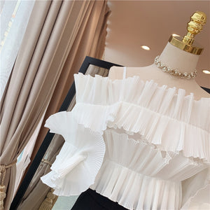 Designer  Pleated Blouse