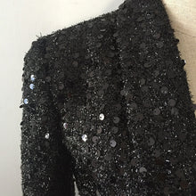 Load image into Gallery viewer, Navarra Sequined Double Breasted  Designer Blazer
