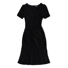Load image into Gallery viewer, Milan High Quality Jewel Neck Flounce Hem Dress