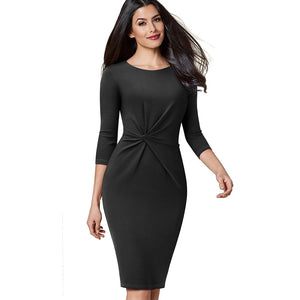 Super Stretch Twist Dress