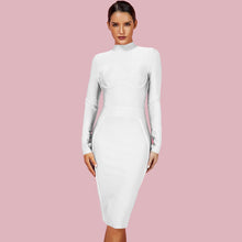 Load image into Gallery viewer, Ferrari  Super Stretch Mock Neck  Dress  in 6 colors