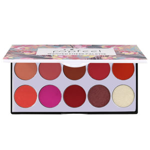 10 Tray Color Palette Blush The Rouge Brighten Orange Pink Naturally Delicate Smooth Face Cream Contouring Blush Makeup Set