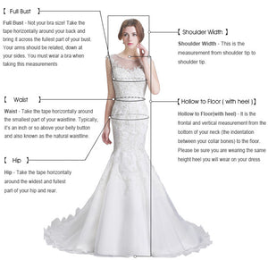 V Neck Floor Length Long Sleeve Mermaid Wedding Dress
