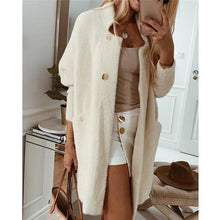 Load image into Gallery viewer, Chic 3/4 Sleeve long Cardigan Coat