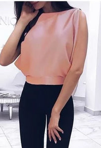 Beautifully Draped Bow back Blouse..