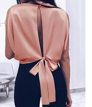 Load image into Gallery viewer, The Annie Bow Back Top